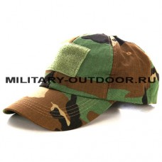 Anbison Tactical Baseball Cap Woodland