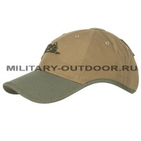 Helikon-Tex Logo Cap PolyCotton Ripstop Coyote/Olive Green