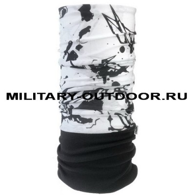 Мультишарф NITRO Blots White/Black