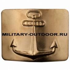 Бляха Речной флот СССР латунная