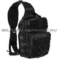Mil-tec One Strap Assault Pack Small Tactical Black