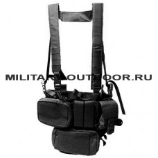Wartech Chest Rig TV-101-BK Black