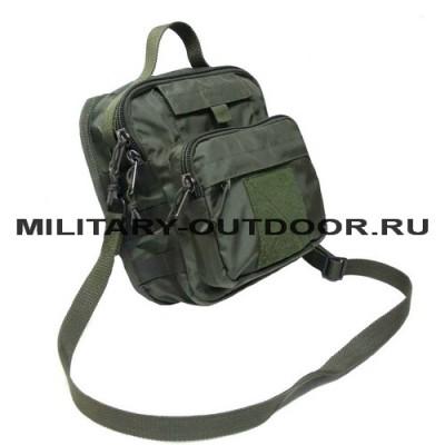 Наплечная тактическая сумка Магнум Олива