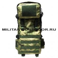 Ранец патрульный Кирпич с тактическим поясом Мох
