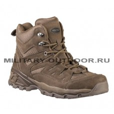 Mil-Tec Squad Boots 5 INCH Brown