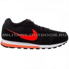 Кроссовки Nike MD Runner 2 Black-Total Crimson