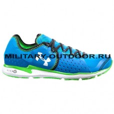 Under Armour Micro G Mantis Running Shoes Blue/White/Green 1235675-481