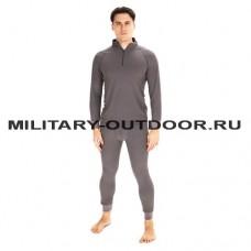 Термобельё Huntsman Thermoline ZIP Grid Fleece Grey