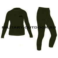 Термобельё Tramp Fleece Olive