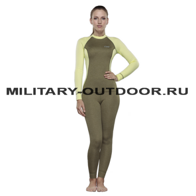 Destroyer Outdoor Trekking Lady Pants Olive/Yellow