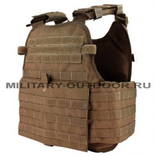 Condor Modular Operator Plate Carrier Coyote Brown