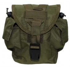 "MFH Drinking Bottle Bag ""Molle"" OD"