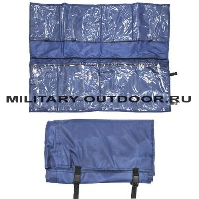 Несессер укладка на фастексах Синяя МЧС 05120079