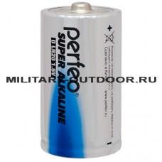 Элемент питания Perfeo 1.5V D (LR20) Super Alkaline