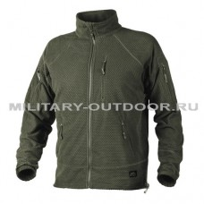 Helikon-Tex Alpha Tactical Grid Fleece Jacket Olive Green