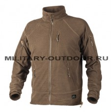 Helikon-Tex Alpha Tactical Grid Fleece Jacket Coyote