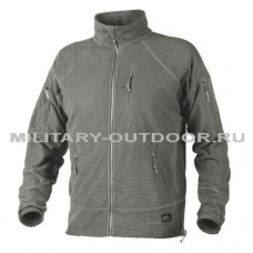 Helikon-Tex Alpha Tactical Grid Fleece Jacket Foliage Green