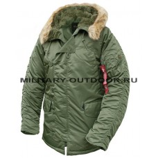 Alpha Industries N3B Parka Sage Green