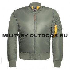 Apolloget B-17 Jacket Sage Green/Orange