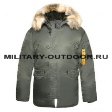 Apolloget N3B Tigth Husky II Parka Forest Night
