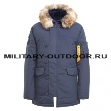 Apolloget N3B Oxford Parka Rep.Blue