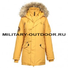 Apolloget Oxford Woman`s Parka Golden Glow/Amber