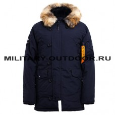 Apolloget N3B OXFORD Parka Ink