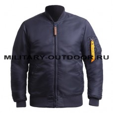 Apolloget B-17 Jacket Ink/Orange