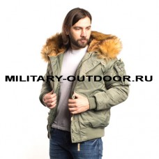 Denali N2B Military Green Bay Jacket
