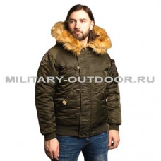 Denali N2B Military Olive Night Jacket