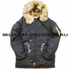 Denali Oxford 2.0 Compass Black/Orange Parka