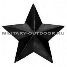 Звезда на погоны 13мм чёрная ФСИН 07040004