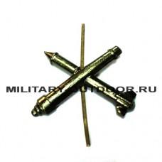 Знак-эмблема на петлицу ЗРВ ВВС полевой 07030012