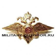 Кокарда Орёл МВД малый 07020007