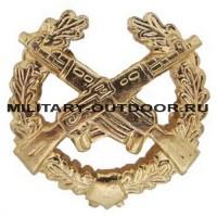 Знак-эмблема на петлицу Мотострелковые войска золотистый 07030141