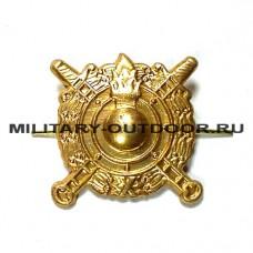 Знак-эмблема на петлицу ВВ МВД золотистый 07030050