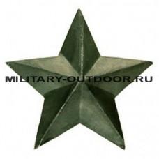Звезда на погоны 20мм полевая 07040006