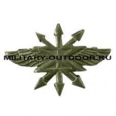 Знак-эмблема на петлицу Войска связи полевой 07030032