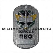 Жетон Войска ПВО эмблема в венке 18010089