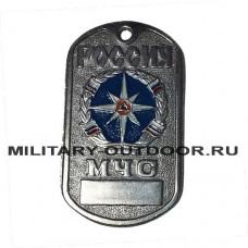 Жетон Россия МЧС голубой фон 18010190