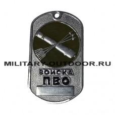 Жетон Войска ПВО эмблема в круге 18010080
