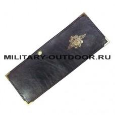 Обложка для удостоверения МВД Кожа