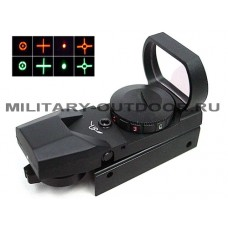 Прицел коллиматорный Ambison Reflex Multi 4 Reticle Red/Green Dot