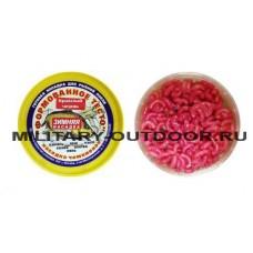 Насадка зимняя Тесто формованное Красный червь 100 гр