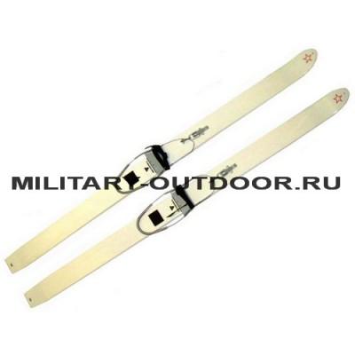 Лыжи армейские пластик
