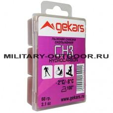 Лыжная смазка Gekars CH3 60гр (-2...-8С)