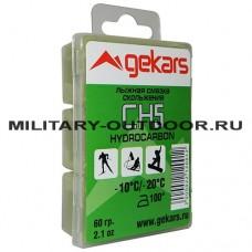 Лыжная смазка Gekars CH5 60гр (-10...-20С)