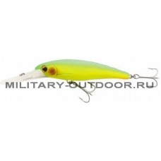 Воблер Lucky John Diving Minnow 14 Yellow Error