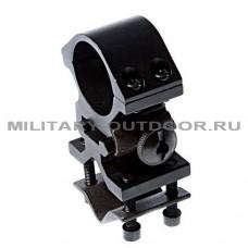 Крепление Ambison для тактического фонаря на ствол или трубу AS-OR0058