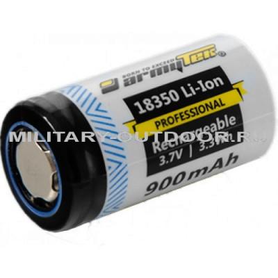 Аккумулятор Armytek 18350 Li-Ion 900mAh